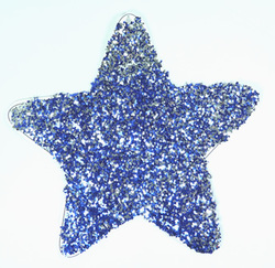 Glitter Painted Star