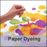 FAS paper dyeing