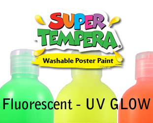 FAS UV Glow poster paint