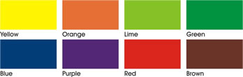 Super Dye Colour Chart