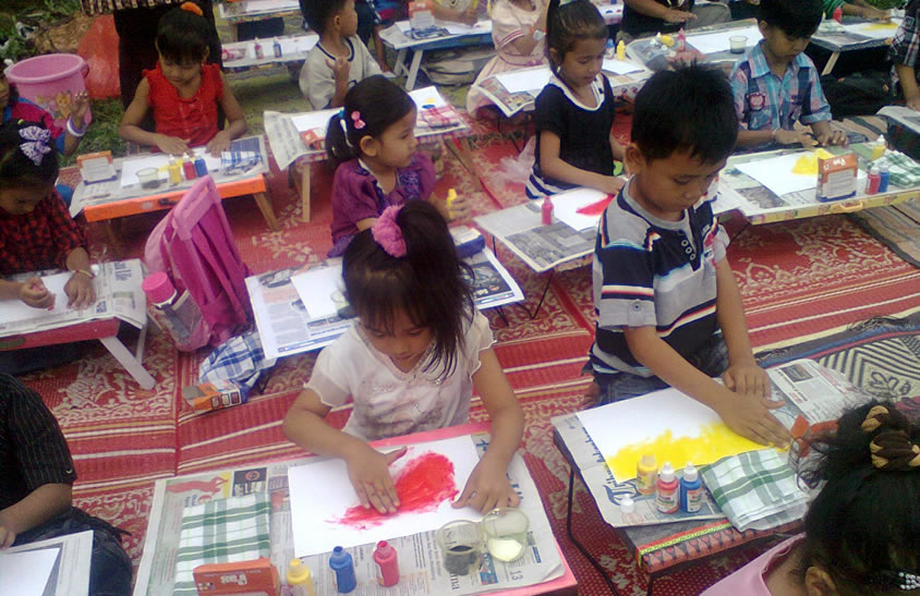FAS Indonesia Painting Competition huuge numbers