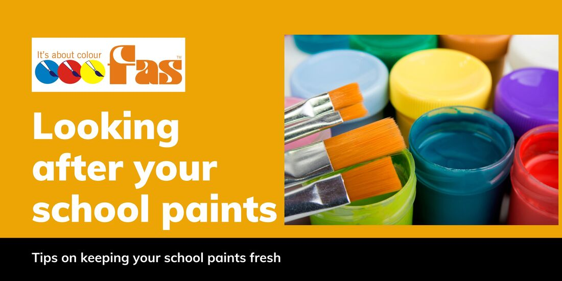 Caring for your school Paints