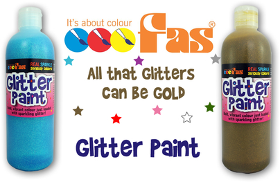 FAS fine art supplies glitter paint