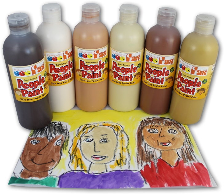 FAS Super Tempera People Paint Set